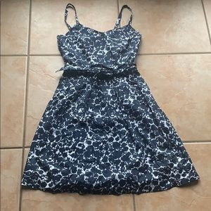 Brooks Brother's Cotton Navy Floral Sundress Sz 2
